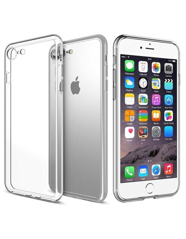Чехол iPhone 7 Plus/8 Plus Прозрачный Силиконовый