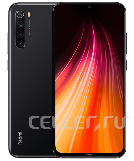 Xiaomi Redmi Note 8T 4/128GB Black