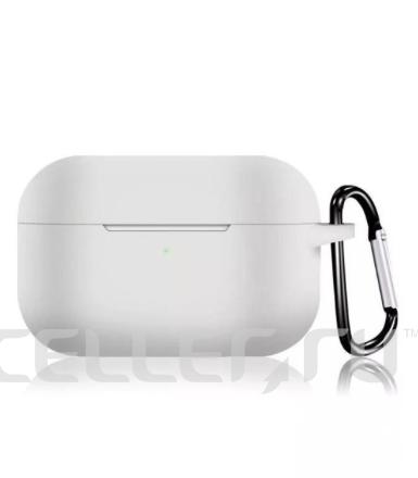 Силиконовый чехол для Apple AirPods Pro белый