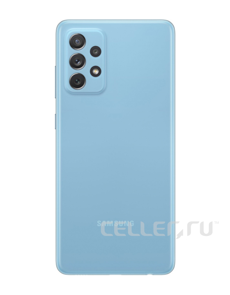 Смартфон Samsung Galaxy A72 8/256GB Синий