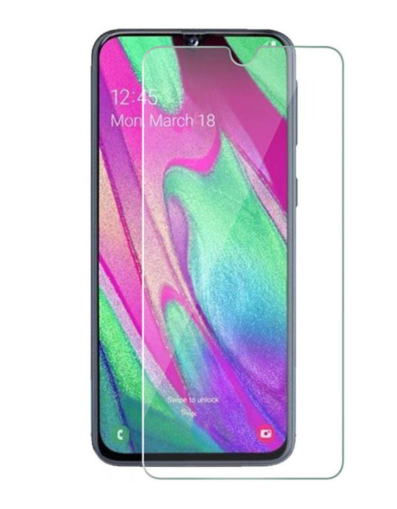 Защитное стекло для Samsung Galaxy A40 прозрачное