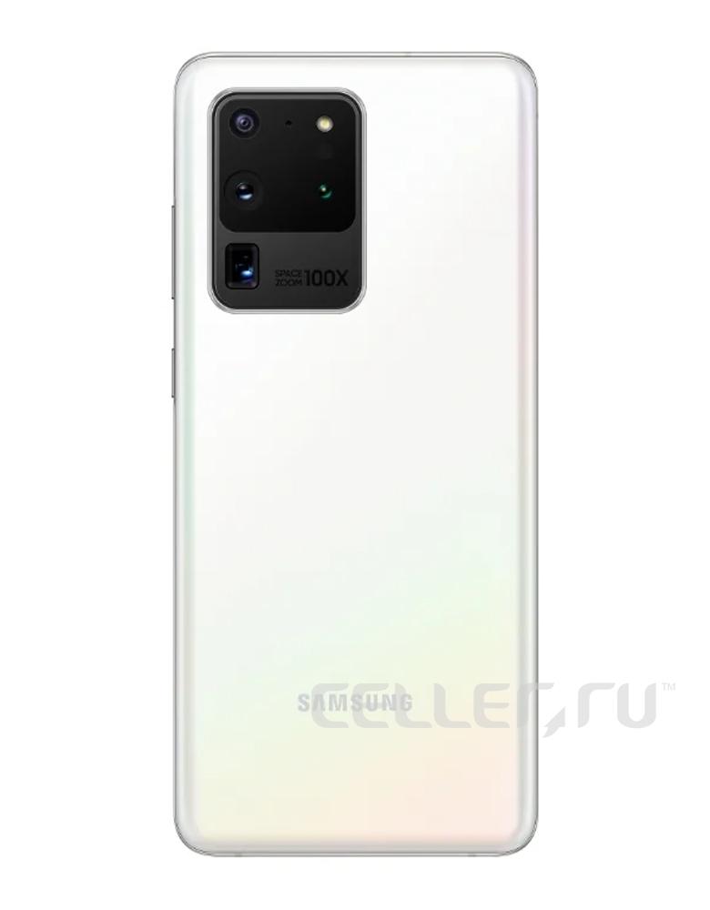Смартфон Samsung Galaxy S20 Ultra 12/128GB Белый