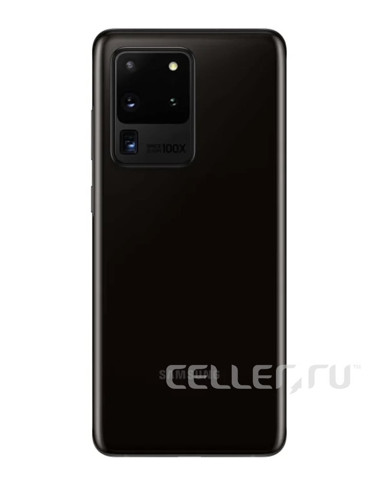 Смартфон Samsung Galaxy S20 Ultra 12/128GB Черный