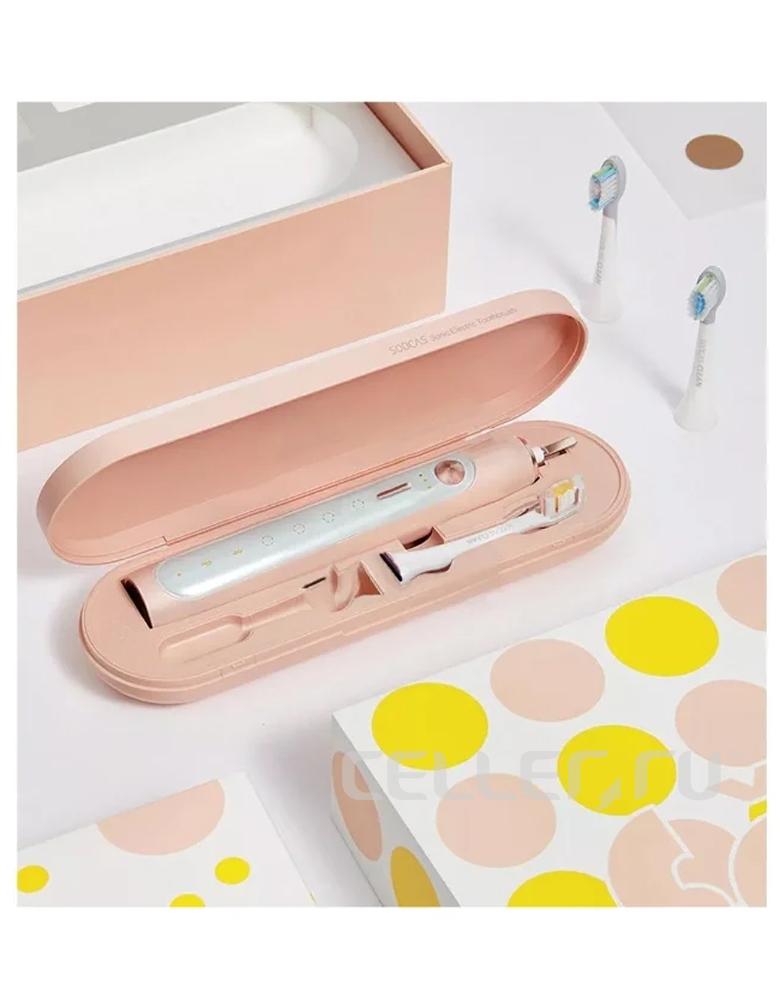 Электрическая зубная щетка Soocas X5 розовая
