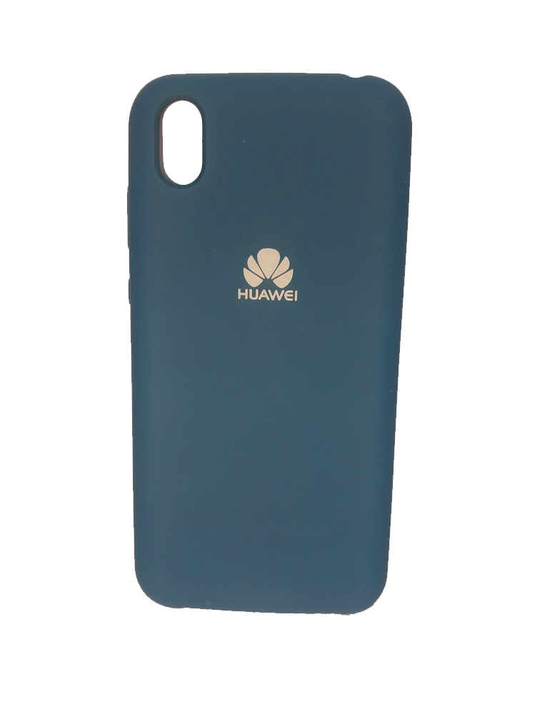 Чехол Silicone Cover для Huawei Y5 2019 / Honor 8S Темно-зеленый