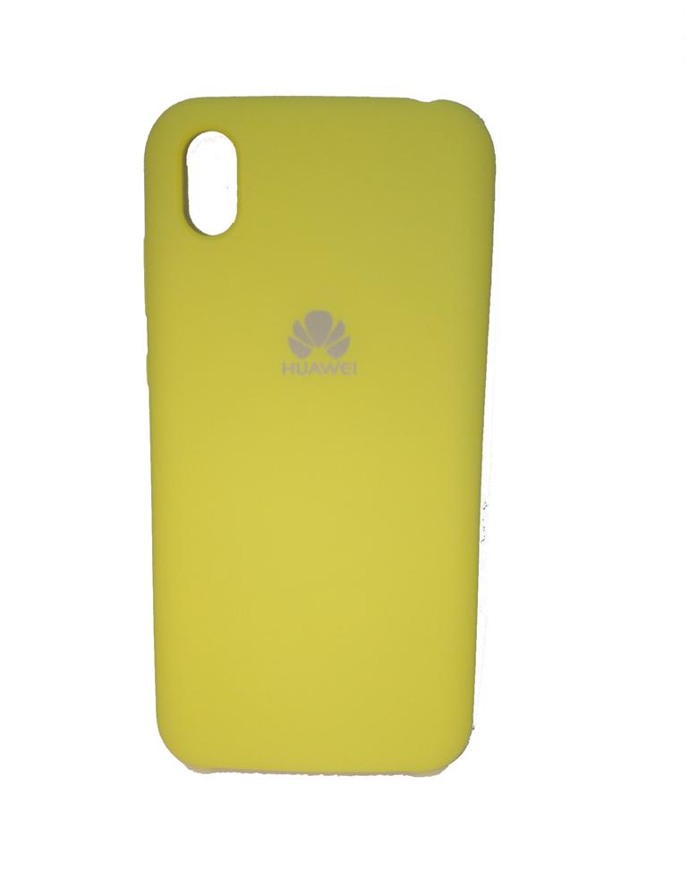 Чехол Silicone Cover для Huawei Y5 2019 / Honor 8S Желтый