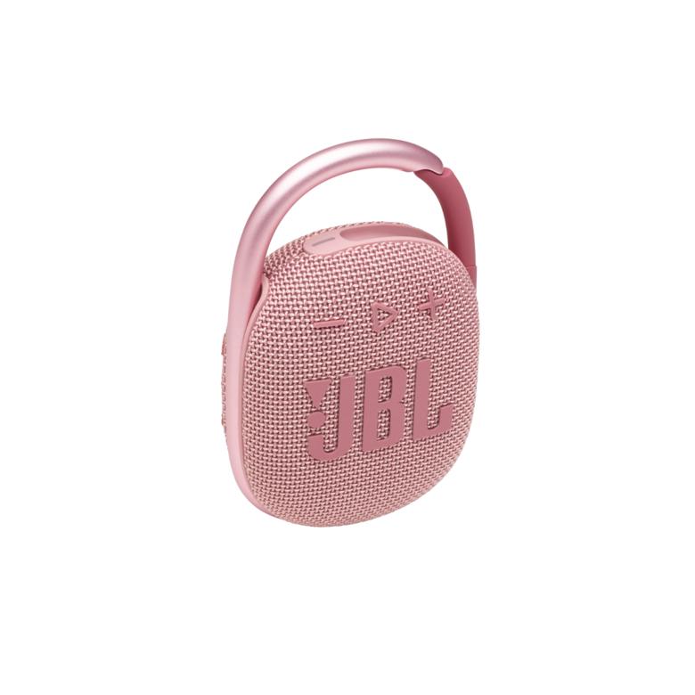 Портативная акустика JBL Clip 4, розовый