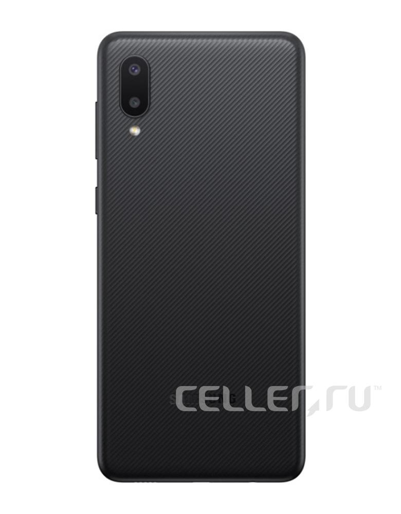 Смартфон Samsung Galaxy A02 2/32GB Черный