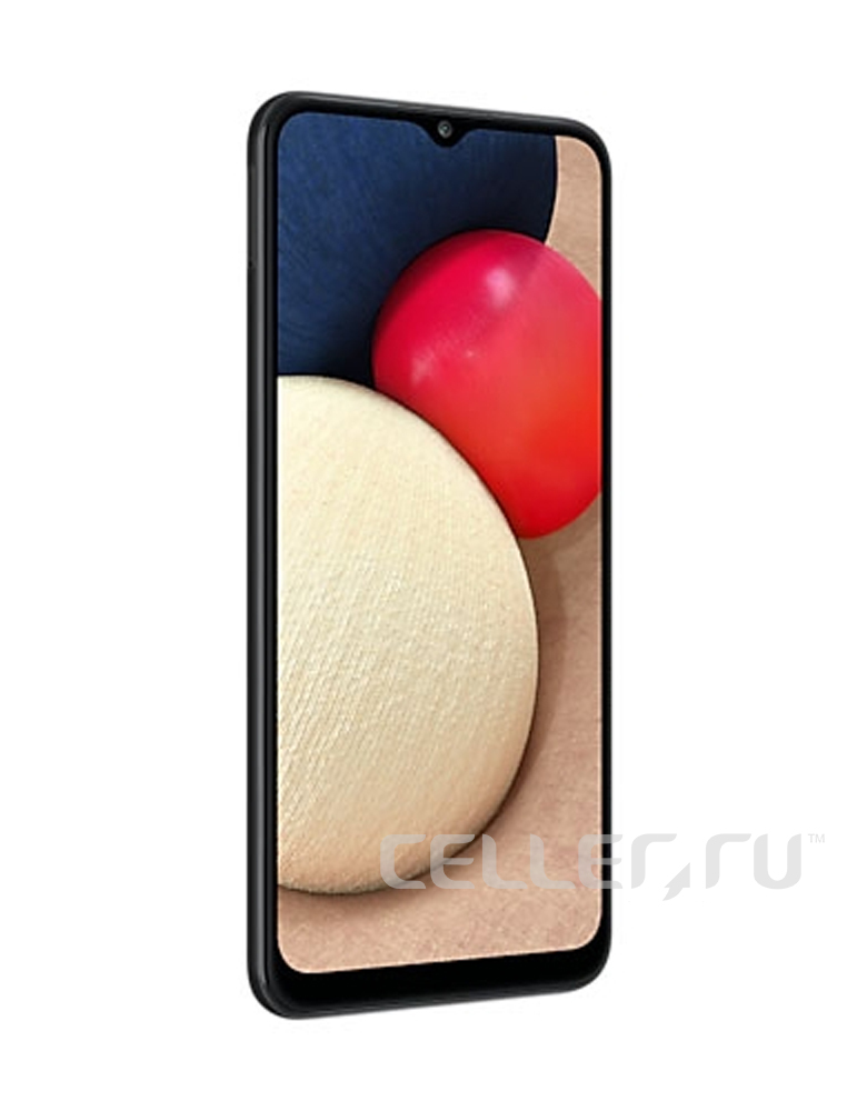 Смартфон Samsung Galaxy A02s Черный