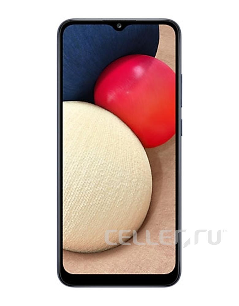 Смартфон Samsung Galaxy A02s Синий