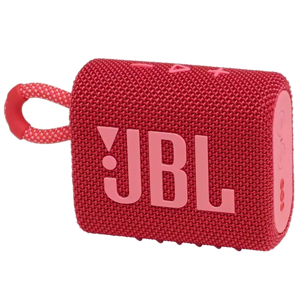Беспроводная акустика JBL Go 3 Red (JBLGO3RED)