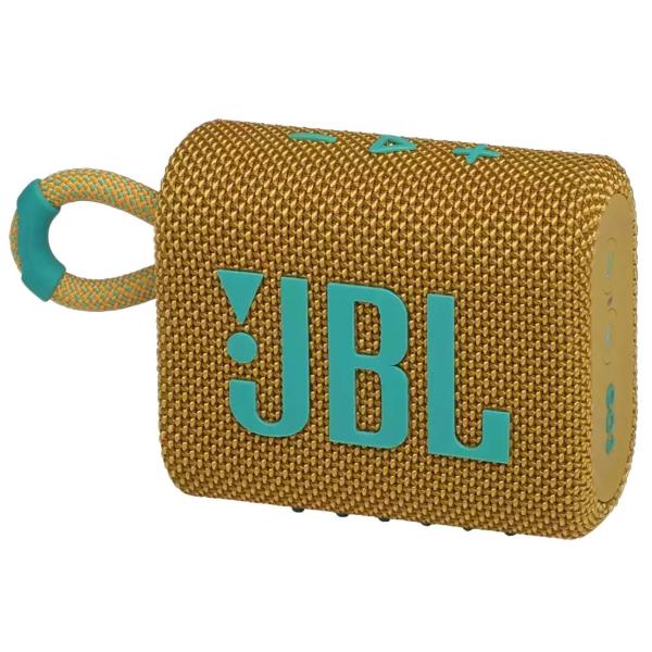 Беспроводная акустика JBL Go 3 Yellow (JBLGO3YEL)