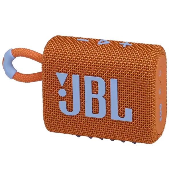 Беспроводная акустика JBL Go 3 Orange (JBLGO3ORG)