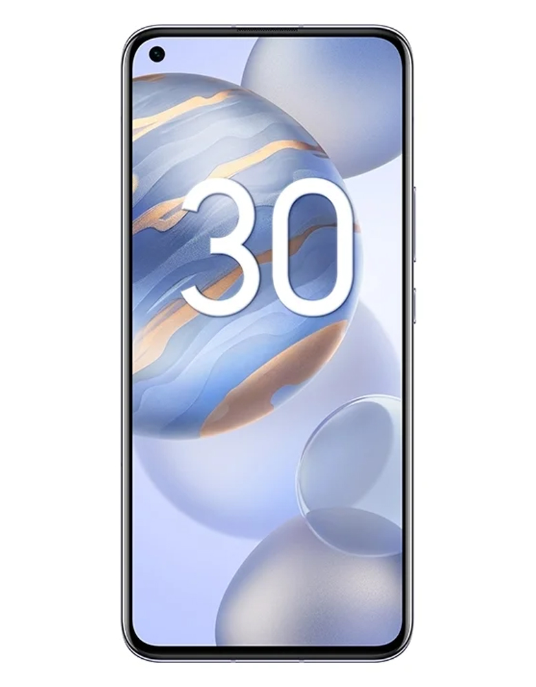 Смартфон HONOR 30 8/256GB титановый серебристый