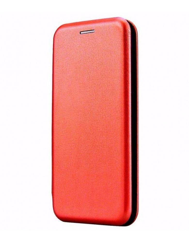 Чехол-книжка для Samsung Galaxy A01 красный