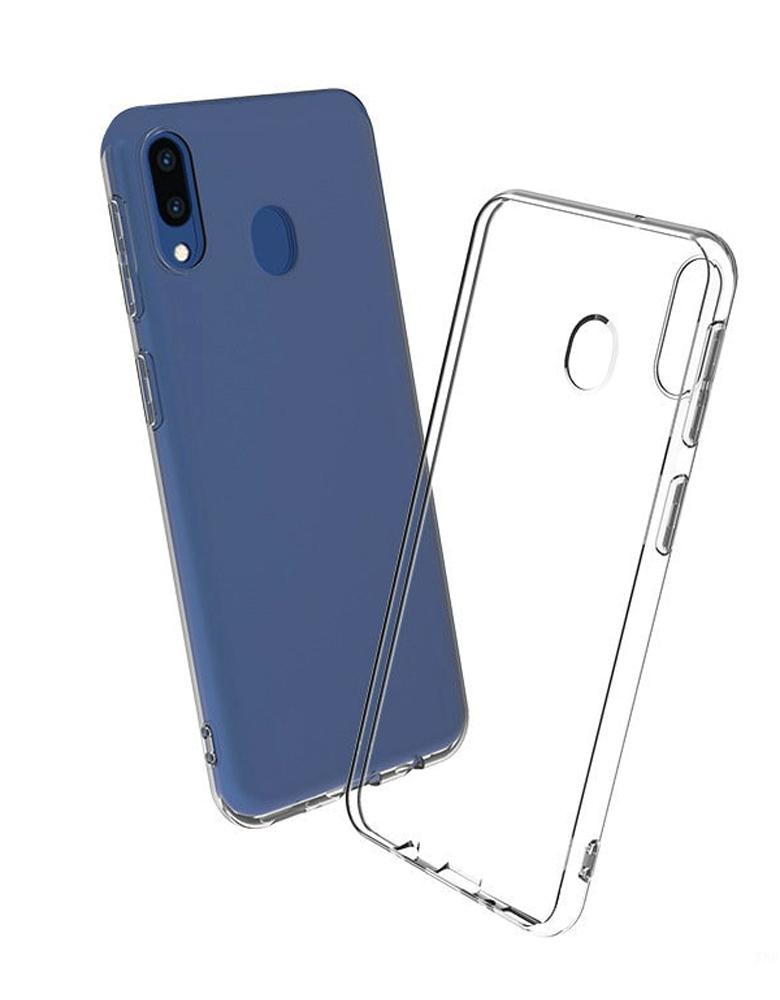 Чехол силиконовый для Samsung Galaxy A20 / A30 прозрачный