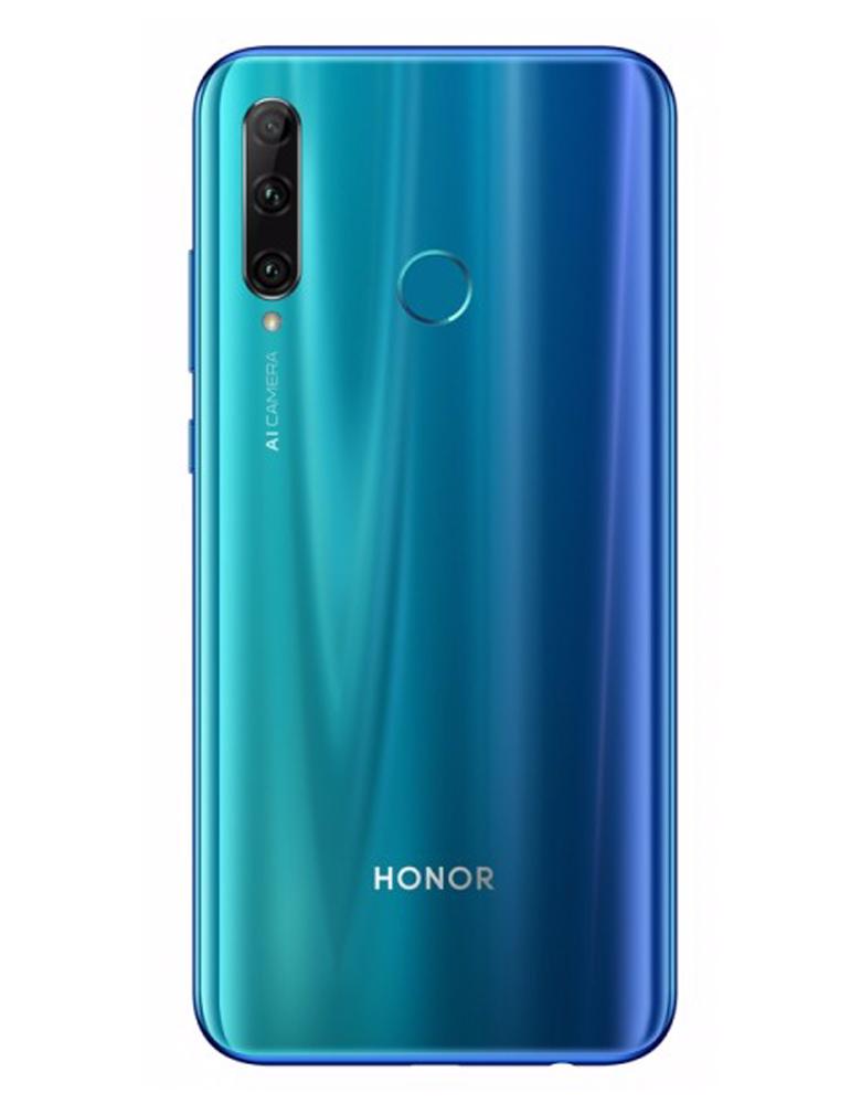 Honor 20e 4/64 GB Мерцающий синий