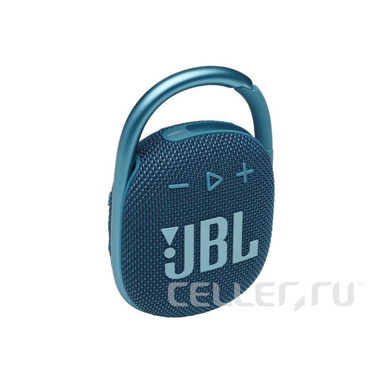 Портативная акустика JBL Clip 4, синий