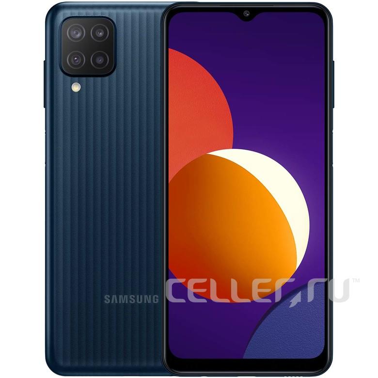 Смартфон Samsung Galaxy M12 64GB, черный