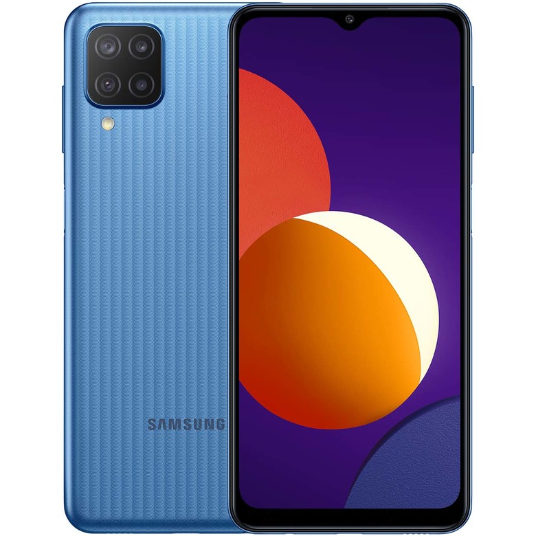 Смартфон Samsung Galaxy M12 64GB, голубой