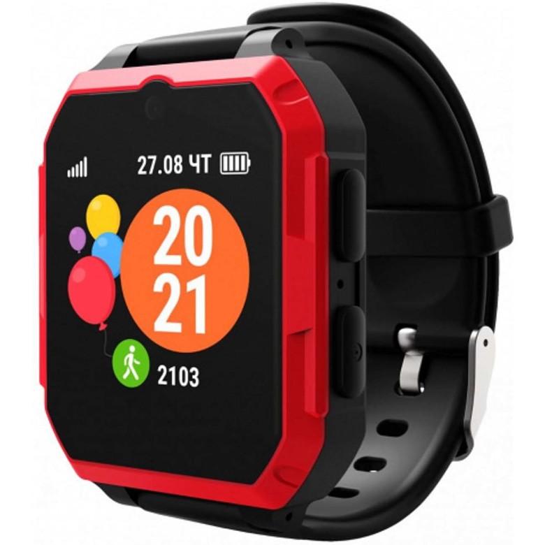 Часы с GPS трекером Geozon Ultra Black/Red
