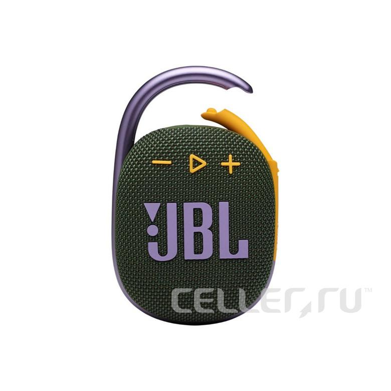 Портативная акустика JBL Clip 4, зеленый