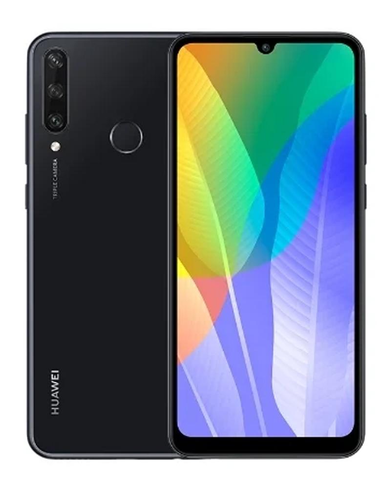 Смартфон HUAWEI Y6p 3/64GB (NFC) черный