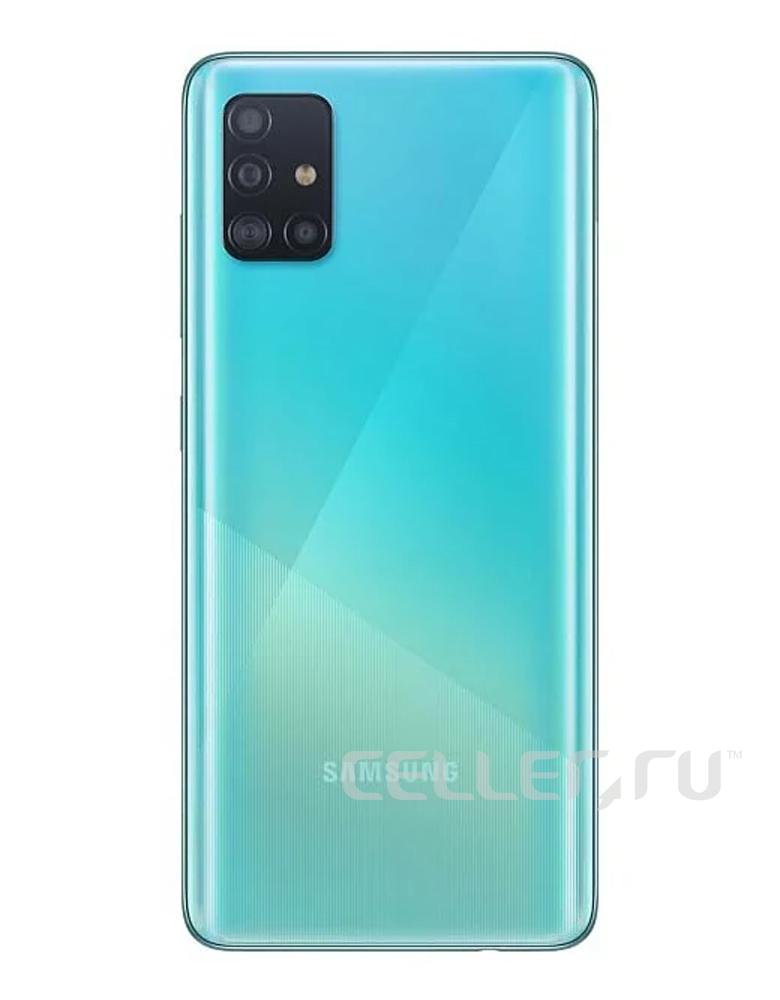 Смартфон Samsung Galaxy A51 64GB Голубой