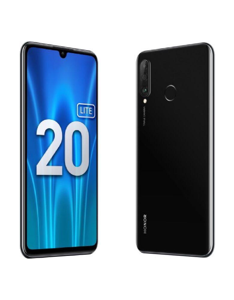 Смартфон Honor 20 Lite 4/128GB (RU) Полуночно черный
