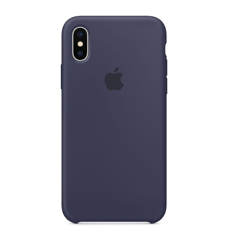 iPhone SE Silicone Case - Midnight Blue