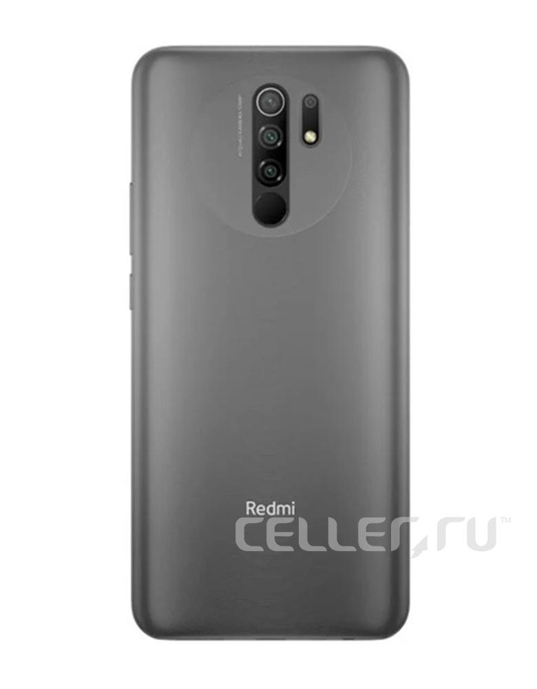 Смартфон Xiaomi Redmi 9 4/64GB (NFC) Серый
