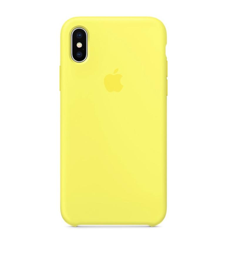 iPhone X Silicone Case - Flash