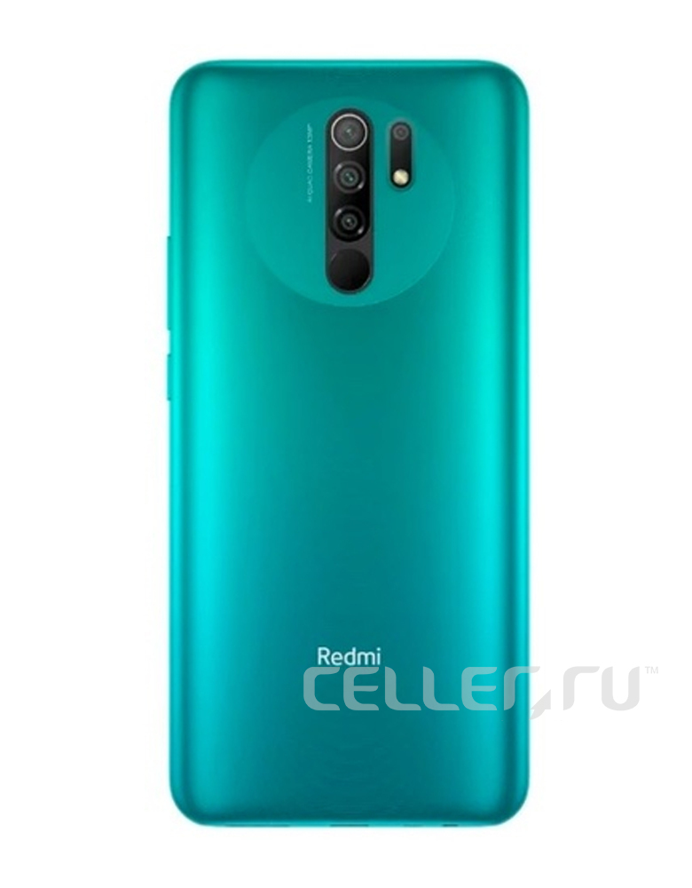 Смартфон Xiaomi Redmi 9 4/64GB (NFC) Зеленый