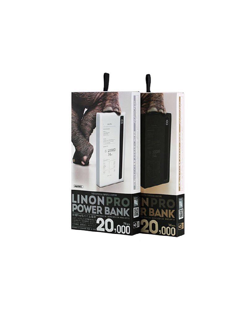 Аккумулятор Remax Linon Pro 20000 mAh RPP-73