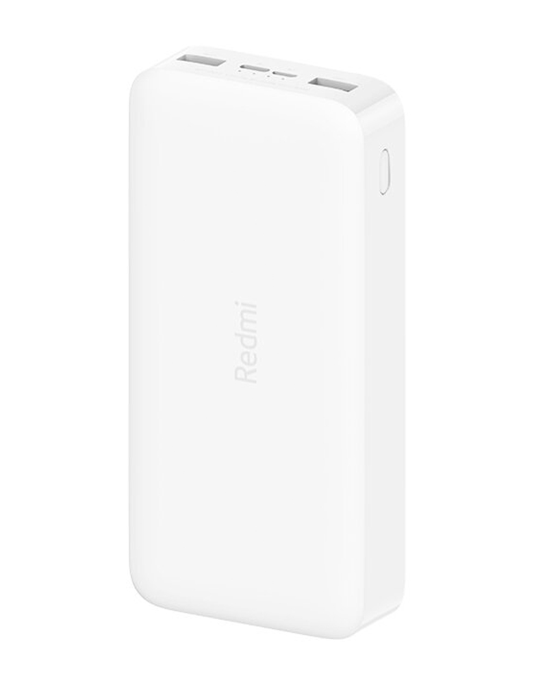 Аккумулятор Xiaomi Redmi Power Bank Fast Charge 20000 Белый