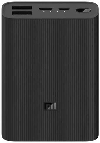 Аккумулятор Xiaomi Mi Power Bank 3 Ultra compact, 10000mAh (BHR4412GL), черный