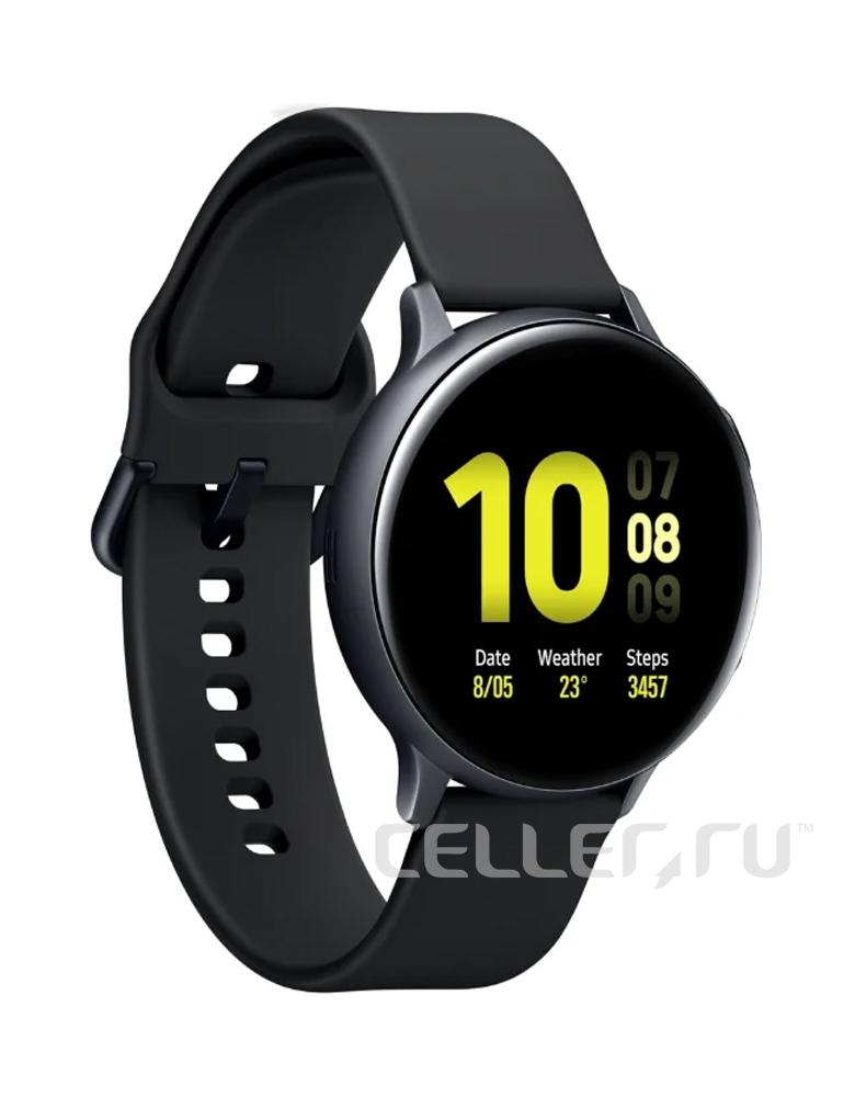 Умные часы Samsung Galaxy Watch Active2 алюминий 40 мм лакрица