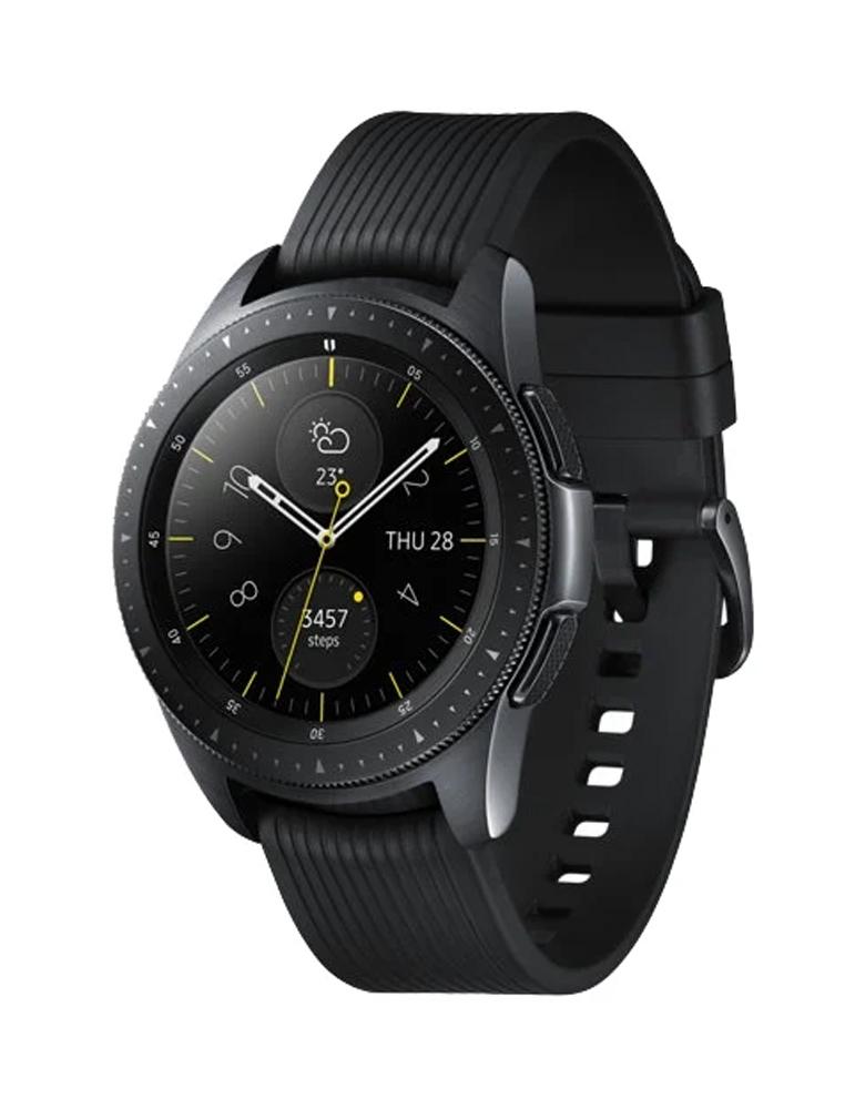 Часы Samsung Galaxy Watch (42 mm) Полночный черный