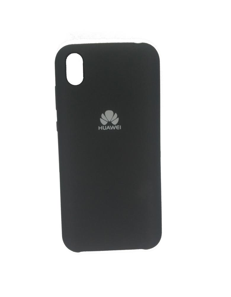 Чехол Silicone Cover для Huawei Y5 2019 / Honor 8S Черный