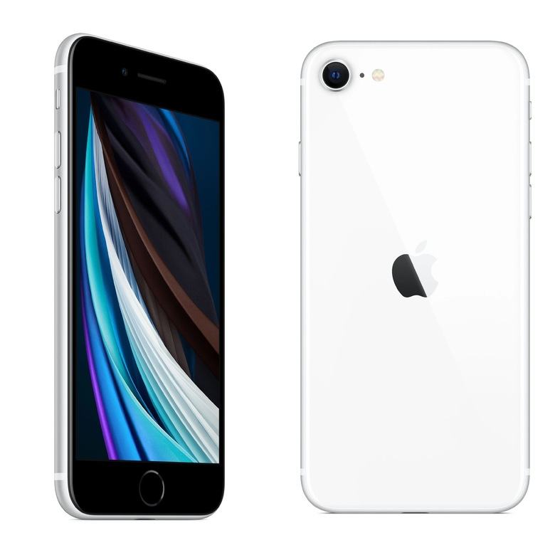 Apple iPhone SE (2020) 128Gb Белый (Slimbox)