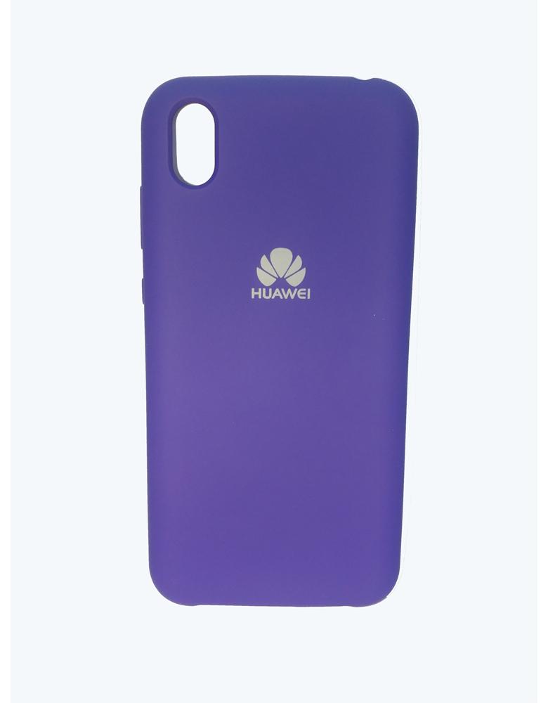 Чехол Silicone Cover для Huawei Y5 2019 / Honor 8S Фиолетовый