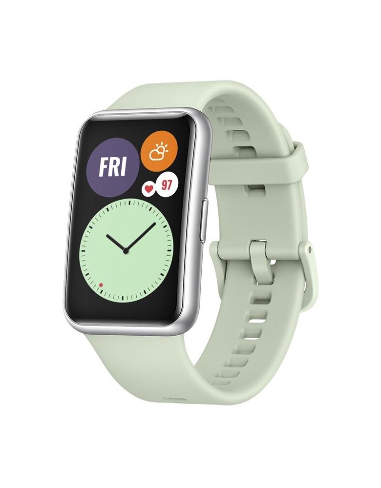 Умные часы HUAWEI Watch Fit мятный зеленый