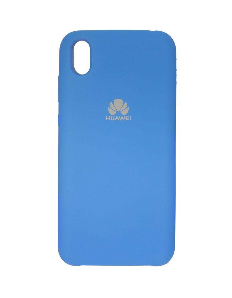Чехол Silicone Cover для Huawei Y5 2019 / Honor 8S Голубой