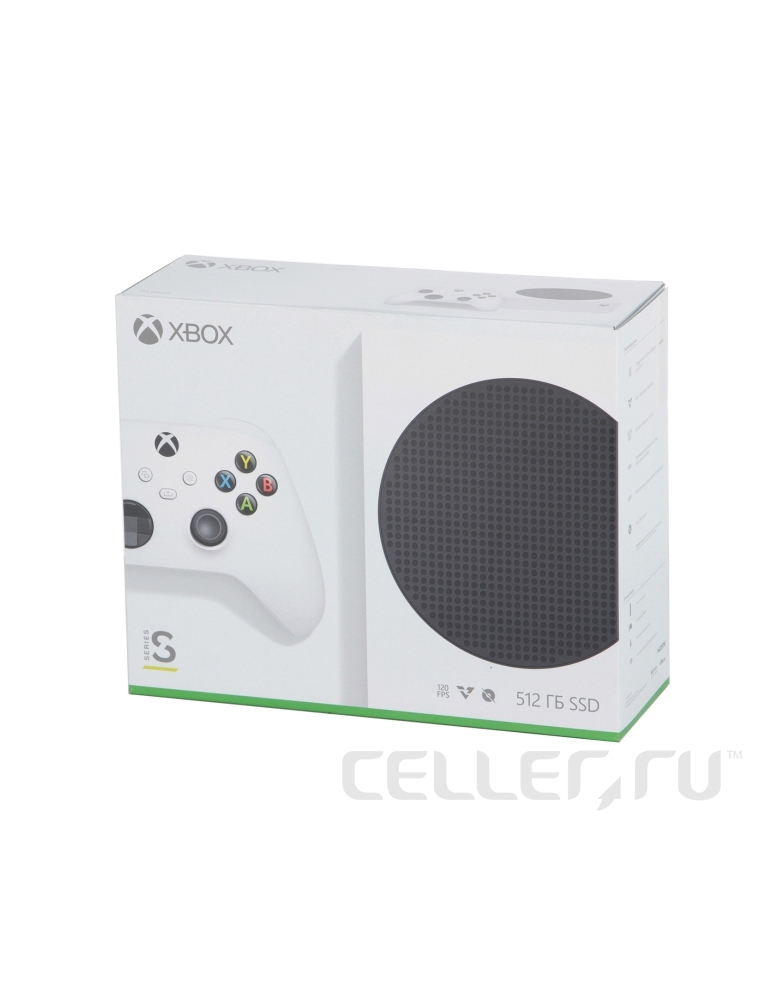 Игровая приставка Microsoft Xbox Series S 512 ГБ