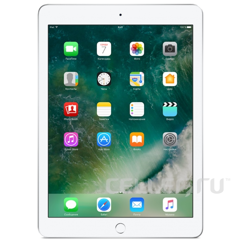 Apple iPad Air 2 128Gb Wi-Fi + Cellular Silver