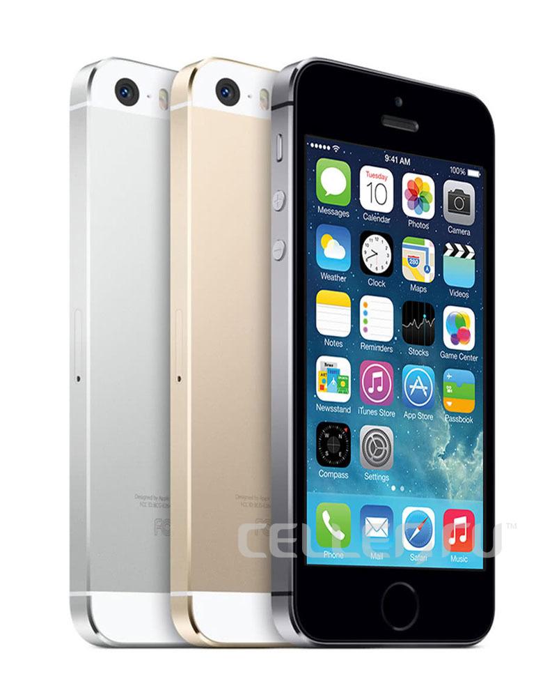 iPhone 5s 16Gb Silver Восстановленный