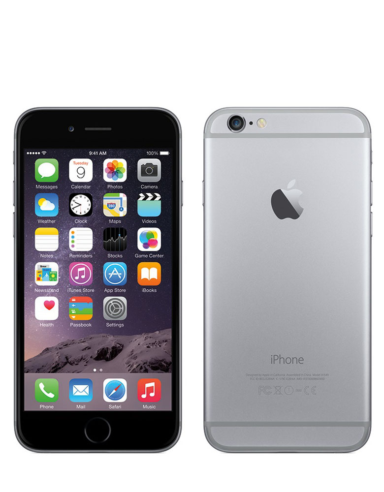 iPhone 6 16Gb Space Gray Восстановленный