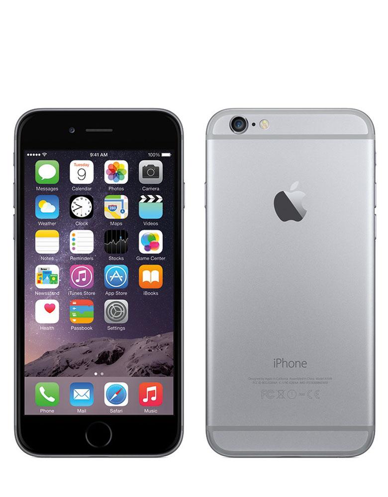 iPhone 6 16Gb Space Gray без Touch id Восстановленный