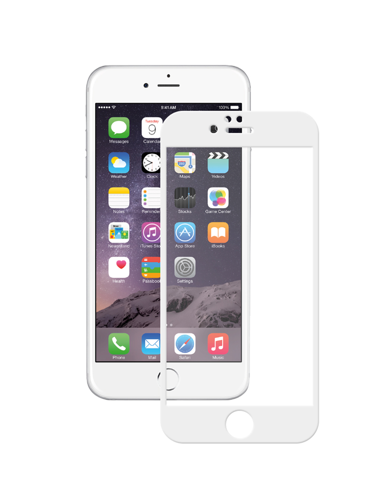 Защитное стекло 5D iPhone 6 Plus/6s Plus