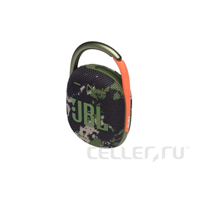 Портативная акустика JBL Clip 4, камуфляж